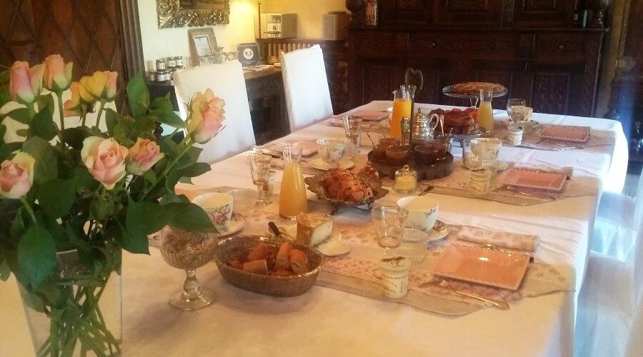 Petit déjeuner du Grismoustier