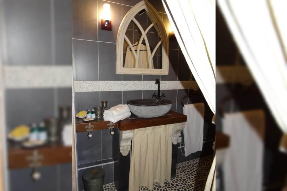 Salle de bain chambre d\'hôtes Fleur de Lys - Le Grismoustier