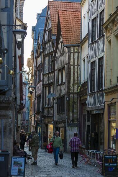 Centre ville de Rouen ©Seine-Maritime Tourisme - V. Rustuel
