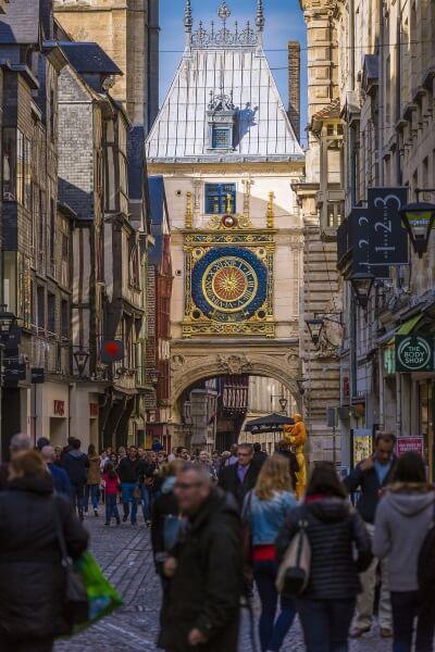 Gros horloge de Rouen ©Seine-Maritime Tourisme - V. Rustuel
