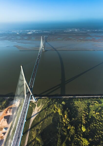 Pont de Normandie en Vallée de Seine ©Seine-Maritime Tourisme - V. Rustuel