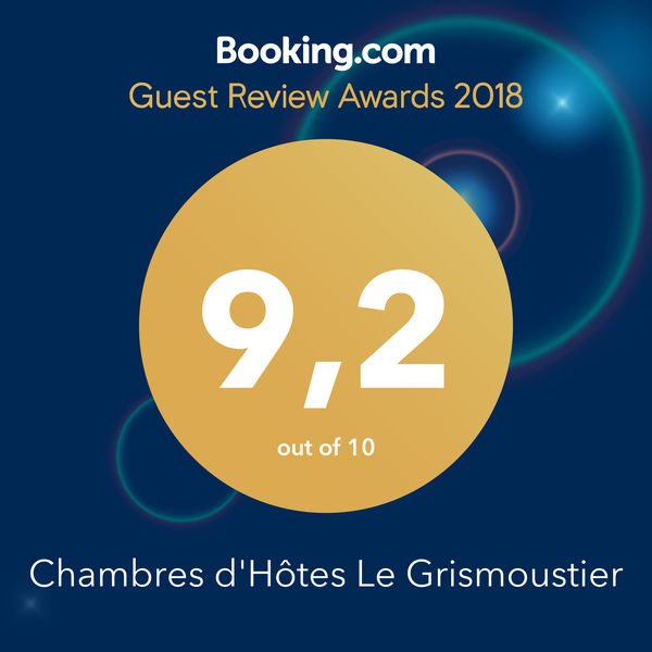 Guest Review Awards Booking Le Grismoustier